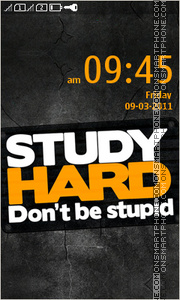 Скриншот темы Study Hard