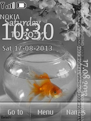 Goldfish 01 theme screenshot