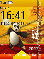 Kung Fu Panda Live theme screenshot