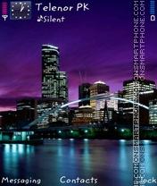 Скриншот темы Rock City