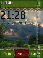 Summer Lake 02 theme screenshot