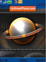 Abstarct theme screenshot