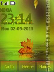 Leaf fall theme screenshot