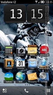 Quadbike theme screenshot