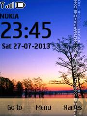 Sunset Vacations theme screenshot