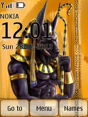 Egypt Art theme screenshot