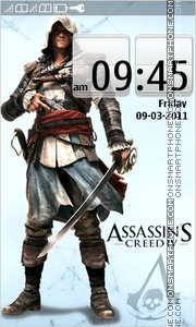 Assassins Creed IV Full Touch theme screenshot