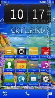 Erpland theme screenshot