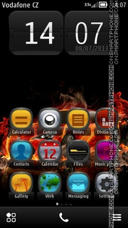 Hot Seat HD V5 theme screenshot