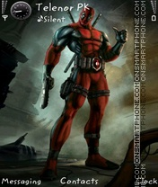 DeadPoOl tema screenshot