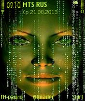 Скриншот темы Matrix-Evo