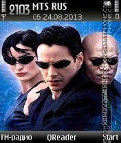 Скриншот темы Matrix Neo