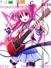 Angel beats yui theme screenshot