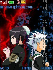 Toshiro and hinamori theme screenshot