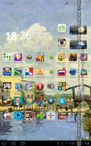 Summer Village Canal theme screenshot