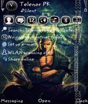 Zoro theme screenshot