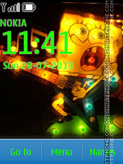 Spongebob 26 theme screenshot