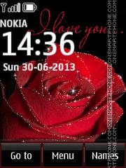 I Love You 16 theme screenshot