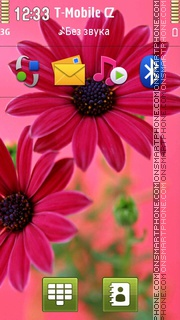 Gerbera Golden Serena Theme-Screenshot