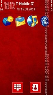 Bloodyred theme screenshot