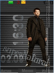 Castiel (supernatural) theme screenshot