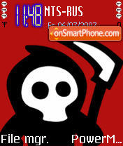 The Grim theme screenshot