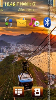 Amazing Rio De Janeiro - Brasilia es el tema de pantalla
