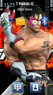 Tekken 09 theme screenshot