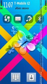 Butterfly 39 tema screenshot
