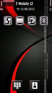 Carbon 1.2 Elite theme screenshot