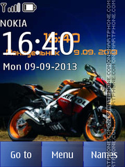 Honda Powersport Bike theme screenshot