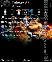 Tekken5 theme screenshot