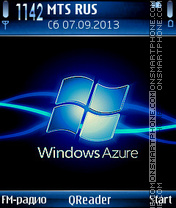 Azure theme screenshot