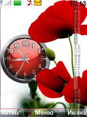 Poppies tema screenshot
