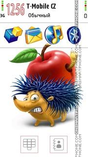 Greedy Hedgehog es el tema de pantalla