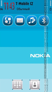 Series Nokia theme screenshot