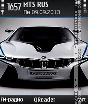 BMW-Vision theme screenshot