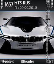 Скриншот темы BMW-Vision