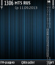 Скриншот темы FM-Stream