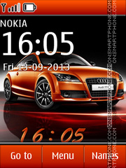 Audi 35 theme screenshot