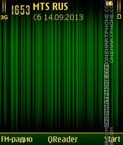 G-Gold theme screenshot