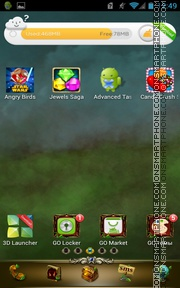 Memory Nature theme screenshot