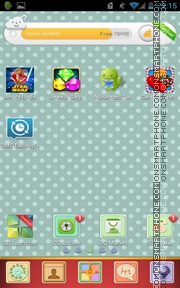 Gift 01 tema screenshot