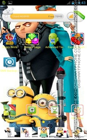 Despicable Me 2 02 theme screenshot