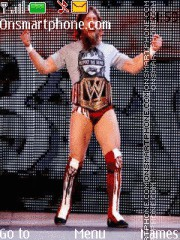 WWE Daniel Bryan tema screenshot