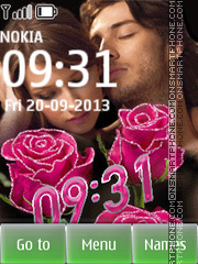 Lovers theme screenshot