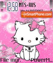 Animated Kitty theme screenshot