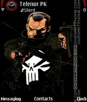 Punisher theme screenshot
