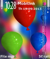 Balloons adam11 theme screenshot
