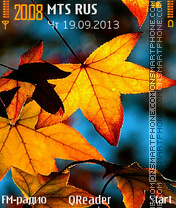 Colors-Of-Fall theme screenshot